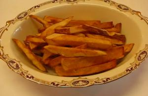 Deep-Fried Crispy French Fries