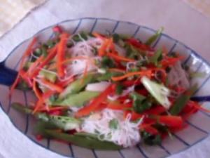 Vermicelli Rice Noodles Salad