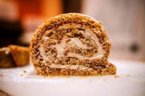 Peachy Cake Roll