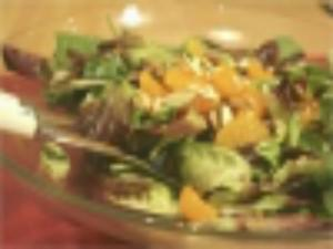 Orange Almond Salad: On the Side #20