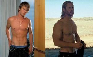 Chris Hemsworth ripped