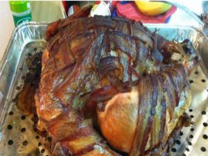 Bacon Weave Turkey