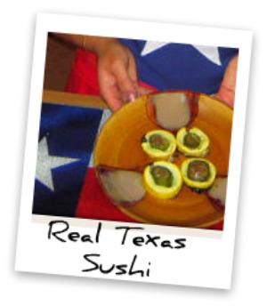 Baked Texas Style Sushi