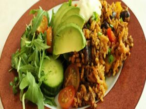 Carolinesfamilymeals One Pot Mexican Beef Rice - Hangout 3