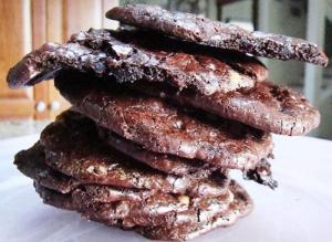 Saucepan Fudge Crackle Cookies