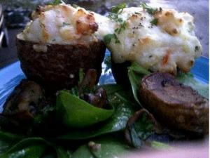 Entertaining: Twice Baked Lobster and Shrimp Potatoes