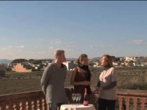 Desiree Reviews A Rosé Cava At The Ferré I Catasús Winery