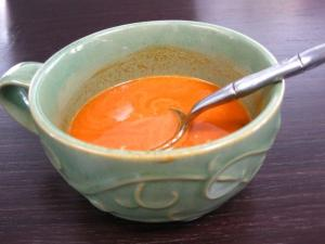 Carrot Plum Ginger Soup