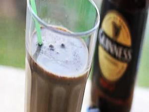 Guinness Punch - 60 second Cocktail for Paddy's Day