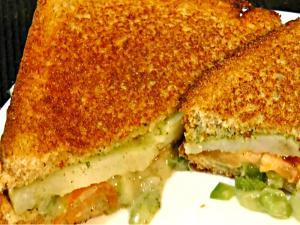 Indian Street Sandwich