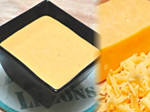 Homemade Creamy Cheese Sauce - Animal Fat Rennet Free