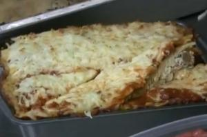 Lasagna Pie Style