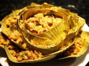 Parmesan Stuffed Artichokes