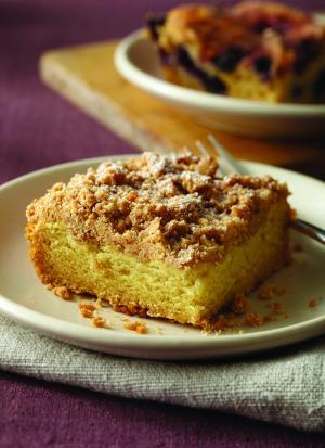 Gluten Free Crumb Cake