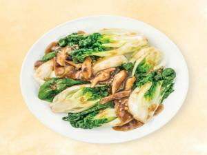 Wegmans Steamed Baby Bok Choy with Oyster Sauce and Shitake Mushrooms