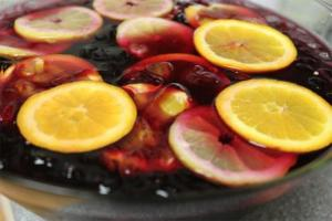 Barbara Ensrud's Red Wine Sangria