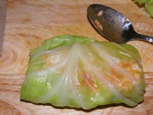 Algerian Stuffed Cabbage Leaves