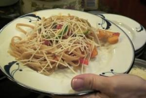 Quick and Easy Grilled Pasta Primavera
