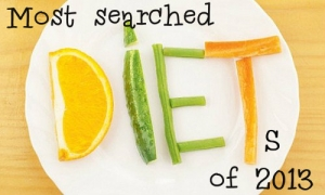 Most searched diets of 2013