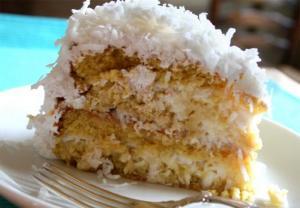 Eliza B  K  Dooley'S Coconut Cake Frosting