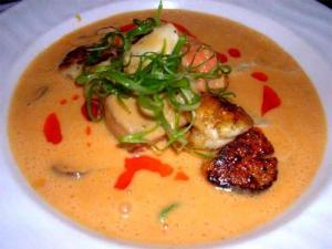 Seafood and Tomato Bowl