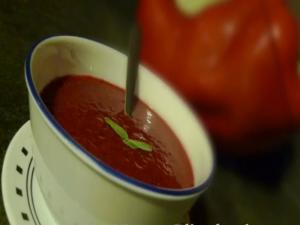 Berry Good Raw Vegan Tomato Soup