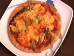 Pizza - Pepper & Baby Corn Pizza
