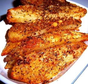 Wisconsin Potato Growers Parmesan Potato Wedges