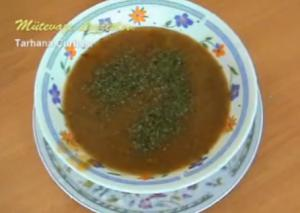 Turkish Tarhana Corbası