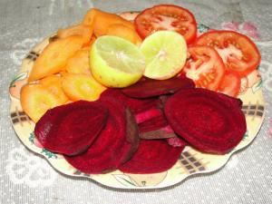 Tomato Carrot And Beetroot Salad