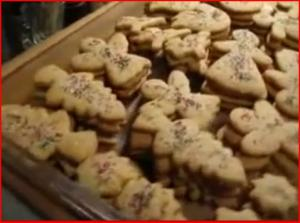 Making Christmas Sugar Cookies