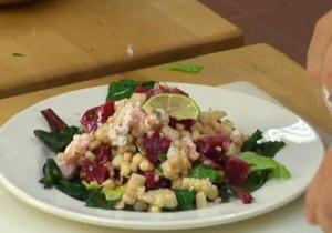 Beet And Corn Salad