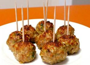 Curried Appetizer Meatballs