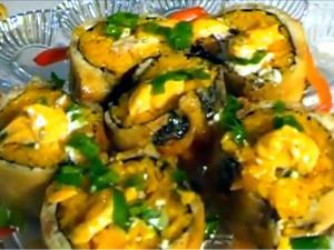 Keith's Tempura Sushi Rolls