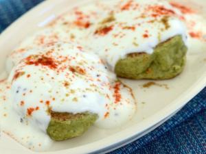 Moong Dal Dahi Vadas (Non-Fried)