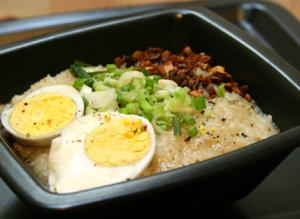 Arroz Caldo Part 2 – Garnishing & Presentation