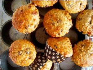 Cheese Bran Muffins