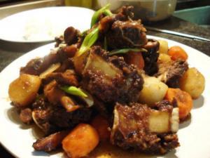 Beef Short Ribs (Galbijjim)