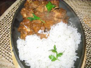 Chicken pasanda sizzler by Chef Sonali