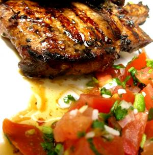 Pork Chops Veracruz