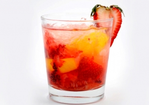 Strawberry Field Cocktail