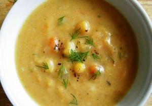 Scandinavian Smoky Pea Soup