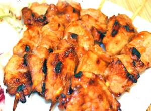 Pork Barbecue with Oyster Sauce