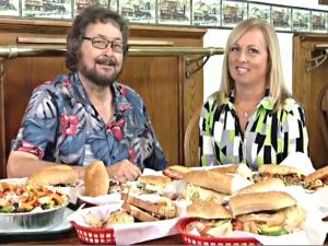 Let's Dine Out TV Show Visits The Deli in Rancho & Honey Baked Ham Cafe in Upland