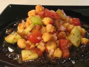 Mark's Garbanzos Salad