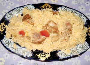 Oriental Chicken Pilaf