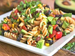 Taco Pasta Salad  - Light & Delicious!