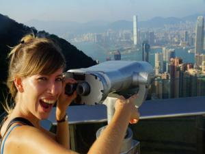 Peak Tram Ride Along with Stunning Views of Hong Kong Island and Victoria Harbor from The Peak