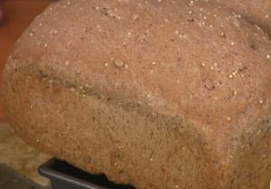 Sunny Millet Poppy Seed Bread