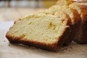 Golden Light Pound Cake